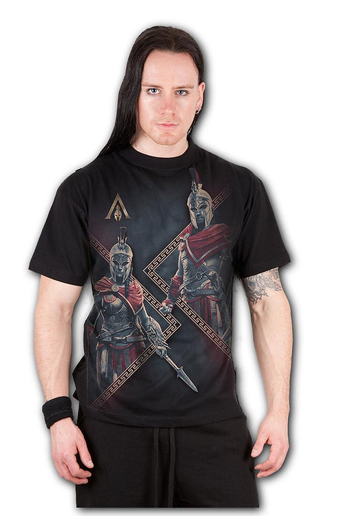 ODYSSEY HEROES - T-Shirt Black