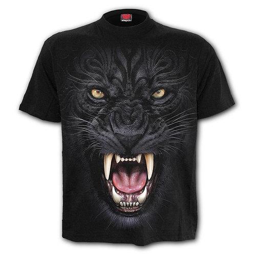 TRIBAL PANTHER - T-Shirt Black