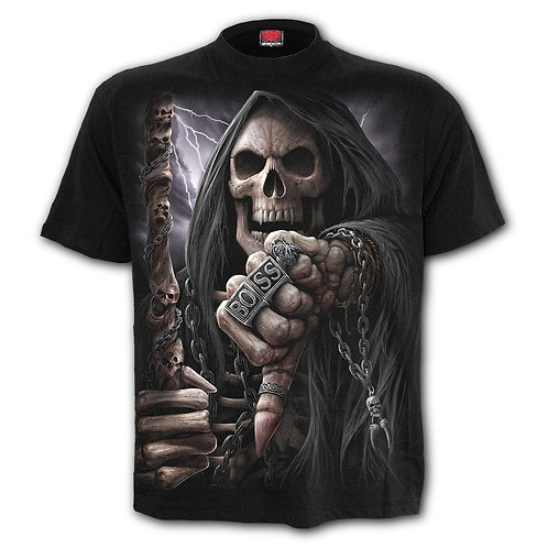 BOSS REAPER - T-Shirt Black