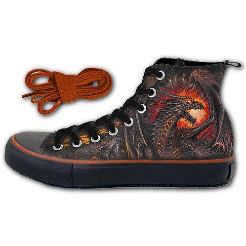 DRAGON FURNACE - Sneakers - Men's High Top Laceup