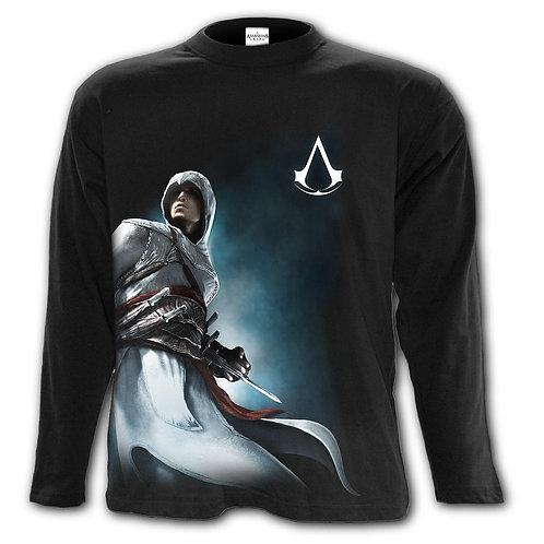 ALTAIR SIDE PRINT - Longsleeve T-Shirt Black