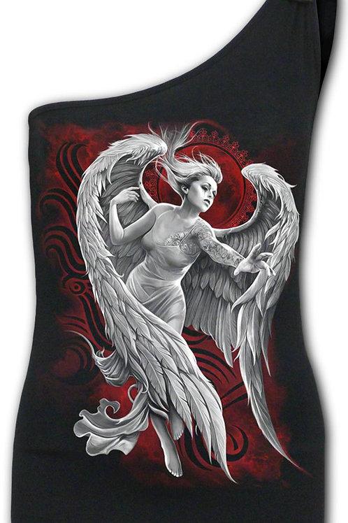 ANGEL DESPAIR - Assymetrical Tie Vest
