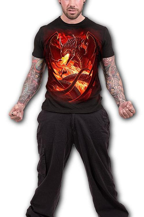 DRAGON'S WRATH - T-Shirt Black