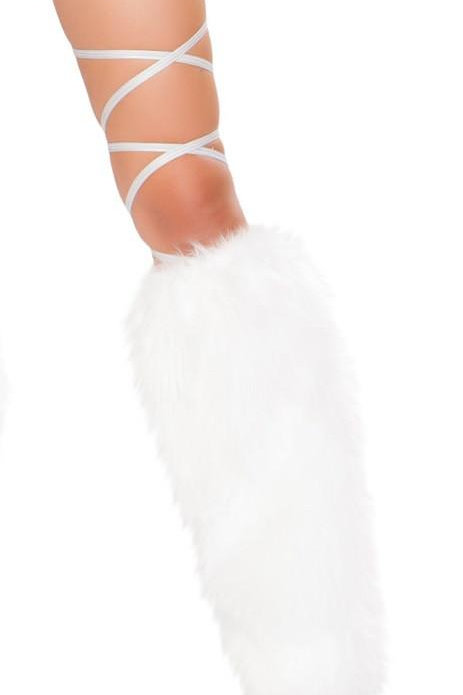 """3324 - 100"""" Space Silver Leg Strap with Attached Garter"""