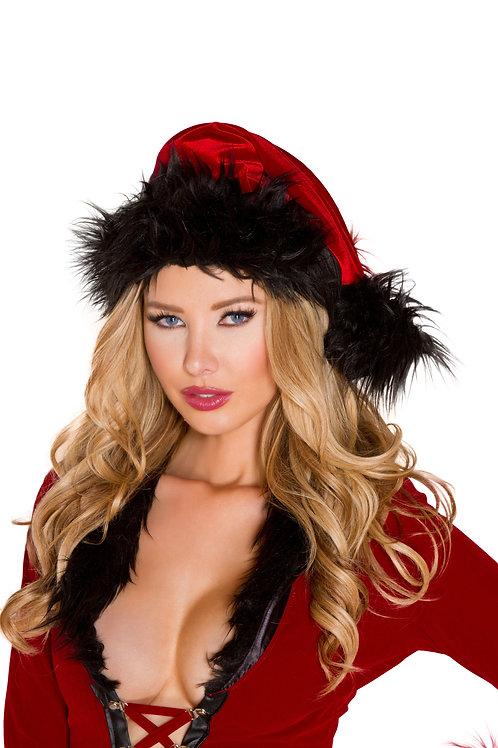 C181 - Fur Trimmed Hat