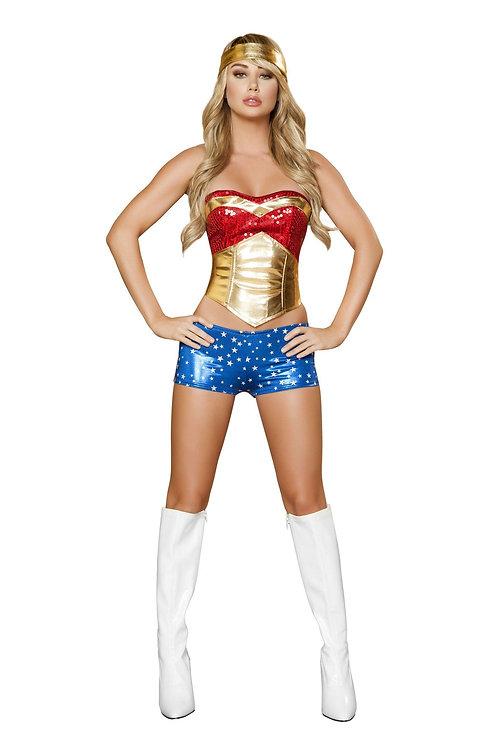 4377 - 4pc Wonder Heroine