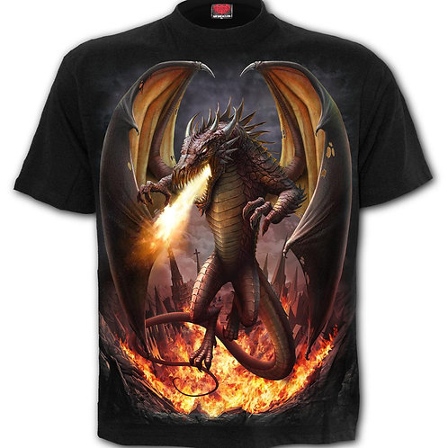DRACO UNLEASHED - T-Shirt Black