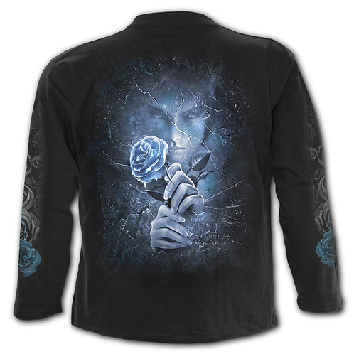 ICE QUEEN - Longsleeve T-Shirt Black
