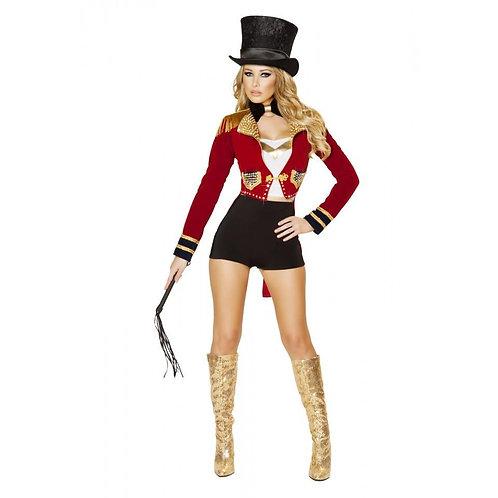 4518 - 6pc Seductive Circus Leader Costume
