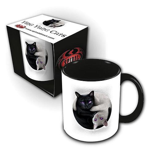 YIN YANG CATS - Ceramic Mug 0.3L