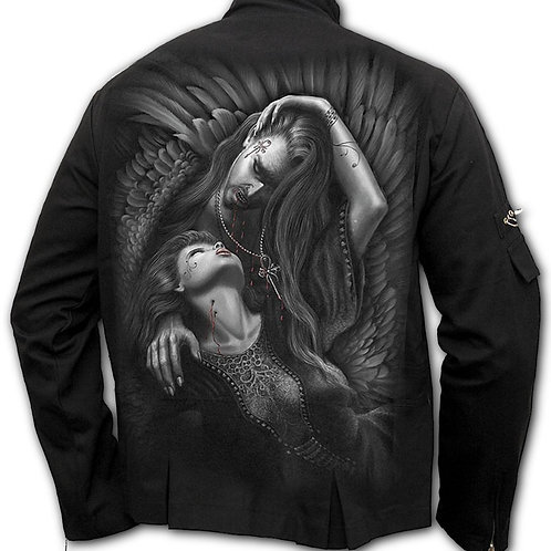 VAMPIRE'S KISS - Orient Goth Jacket Black (Plain)