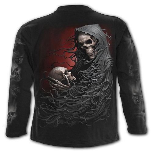 DEATH ROBE - Longsleeve T-Shirt Black