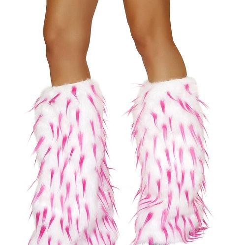 LW4473 Fur Leg Warmer