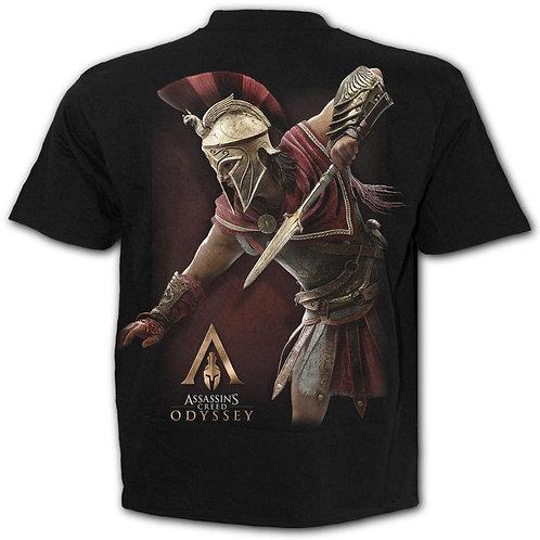 ODYSSEY ALEXIOS ARMOUR - T-Shirt Black