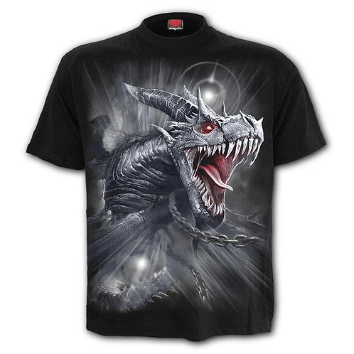 DRAGON'S CRY - T-Shirt Black