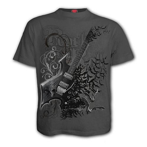 NIGHT RIFFS - T-Shirt Charcoal (Plain)