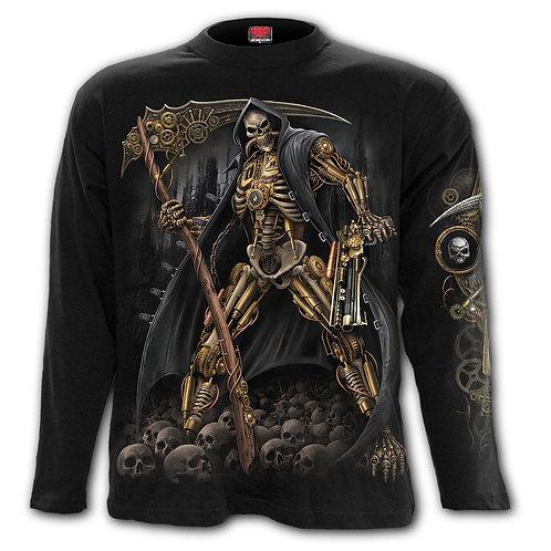 STEAMPUNK SKELETON - Longsleeve T-Shirt Black