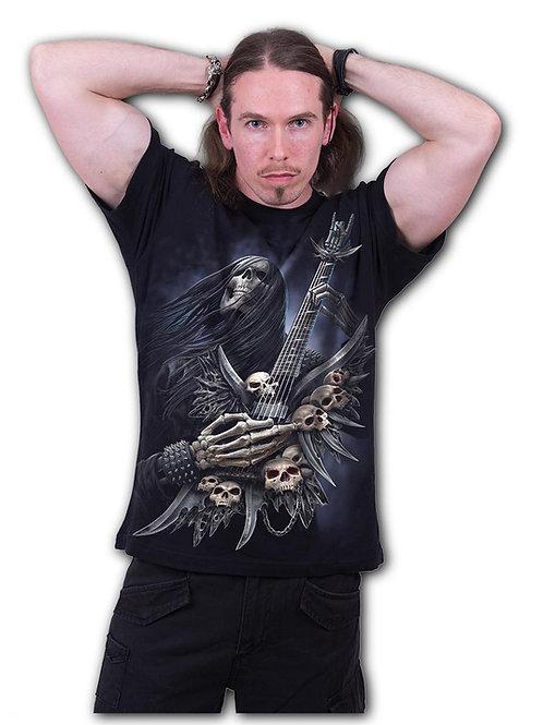 ROCK ON - T-Shirt Black