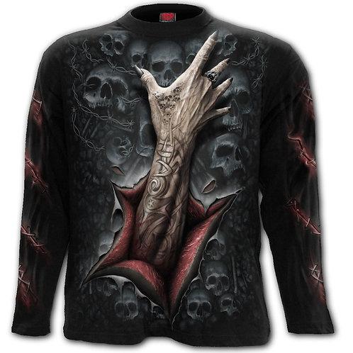 STRANGLER - Longsleeve T-Shirt Black