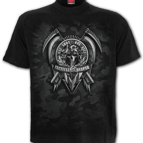 TACTICAL REAPER - T-Shirt Black