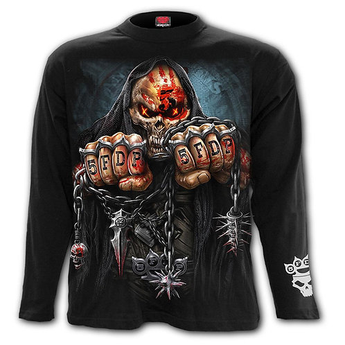 5FDP - GAME OVER - Longsleeve T-Shirt Black