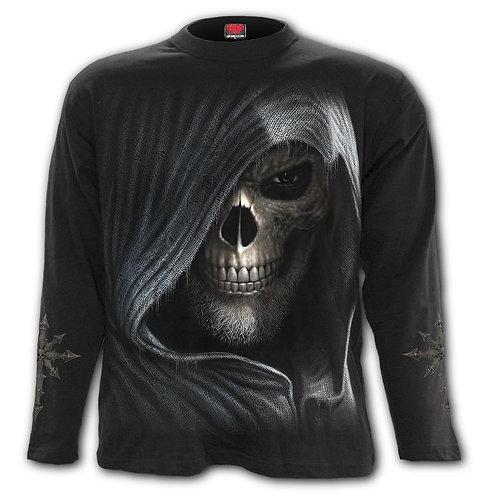 DARKNESS - Longsleeve T-Shirt Black
