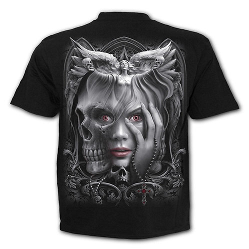DARK FUSION - T-Shirt Black