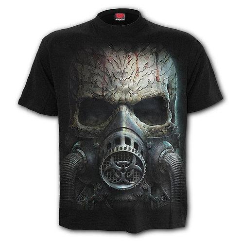 BIO-SKULL - T-Shirt Black