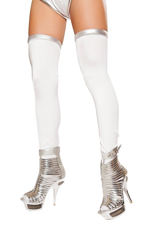 ST10077 - White/Silver Space Commander Leggings