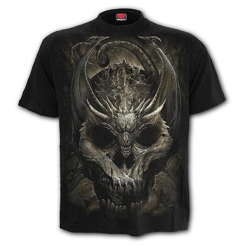DRACO SKULL - T-Shirt Black