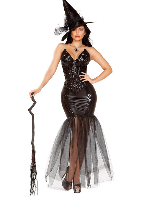 4910 - 3pc Witch with An Evil Spell