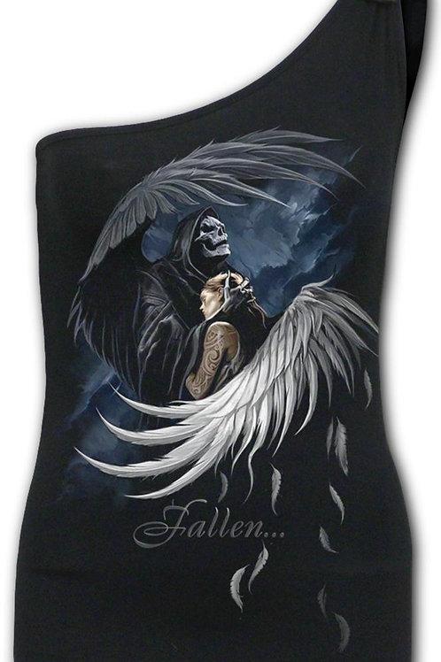 FALLEN - Assymetrical Tie Vest