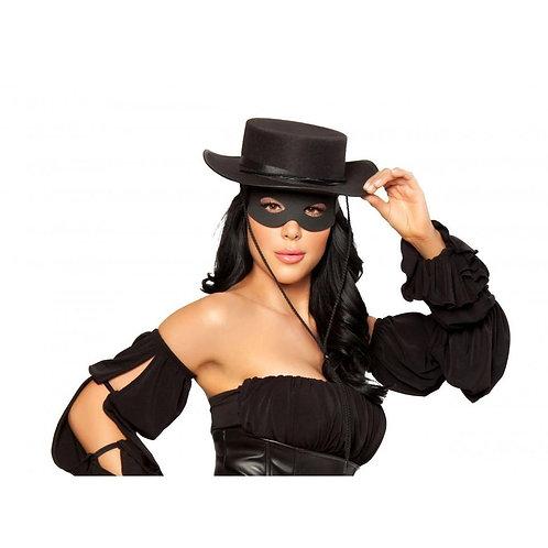 H109-Zorro Hat