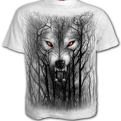 FOREST WOLF - T-Shirt White (Plain)