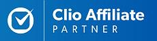 Clio affiliate partner badge
