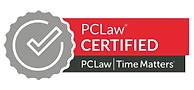 pclaw certified partner program badge