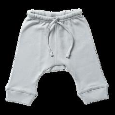 ORGANIC COTTON DROP CROTCH PANTS - BABU