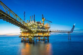 Aardgas word zowel op land als op zee gewonnen. Met moderne technieken halen ze aardgas uit de diepe ondergond onder de Noordzee. De manier van gaswinning op zee is in principe hetzelfde als gaswinning op land