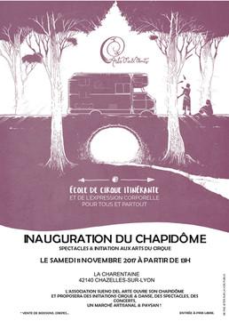 Inauguration du Chapidôme