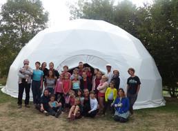 Mini-camp cirque - Camping de Panissières