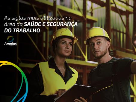 Saúde e Segurança do Trabalho: conheça as 10 siglas mais usadas na área
