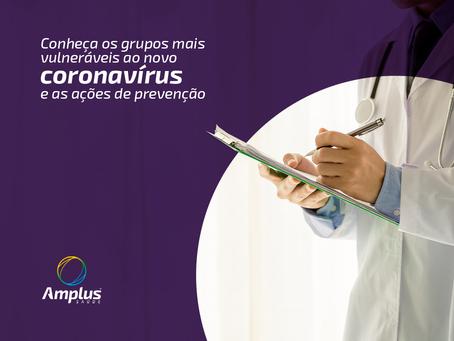 COVID-19: Conheça os grupos mais vulneráveis ao coronavírus e as ações de prevenção