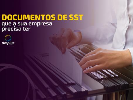 Conheça os documentos de SST obrigatórios a todas as empresas