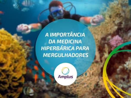A importância da medicina hiperbárica para mergulhadores