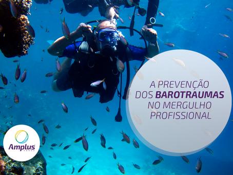 Barotraumas: medidas de prevenção nas atividades de mergulho