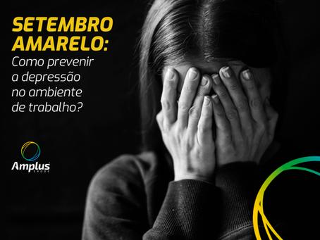 Setembro Amarelo: Como prevenir a depressão no ambiente de trabalho?