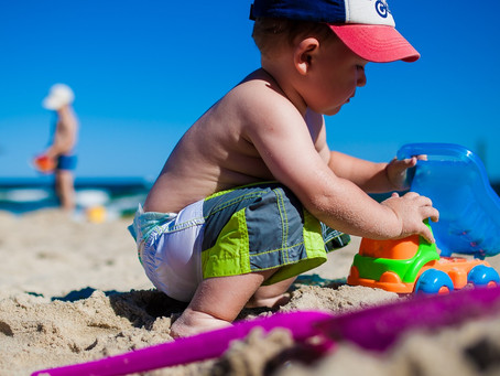 Parent survival (& learning) guide to a family day at the beach!
