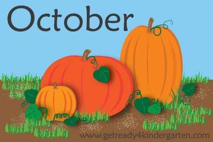 Halloween/Fall Scavenger Hunt