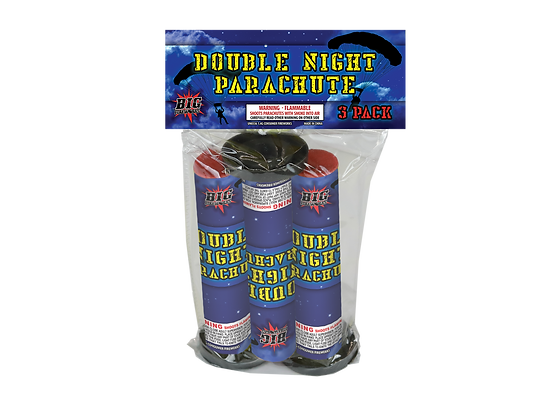 3 Pack Double Night Parachute Bag