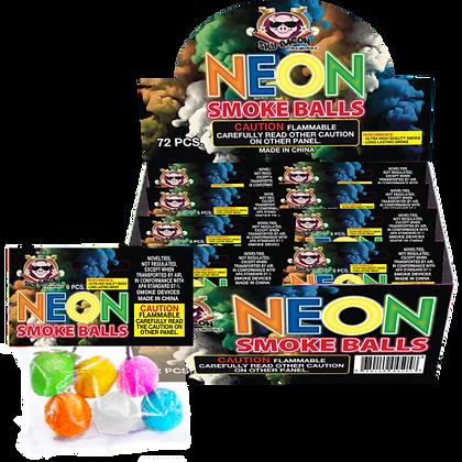 Neon Smoke Balls
